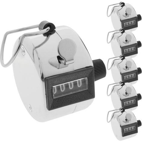 BeMatik - Compteur de personnes manuel à 4 chiffres 6 unités