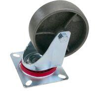 PrimeMatik - Roue à roulette industrielle sans frein 100 mm