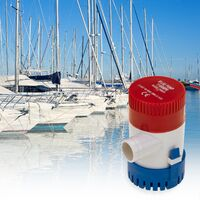 BeMatik - Pompe électrique de cale à eau 4100 l/h 12VDC 3A
