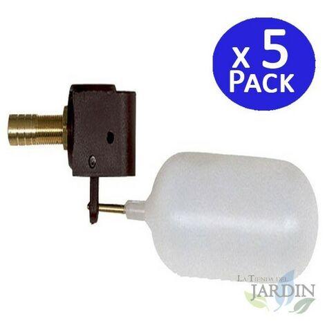 Válvula flotador de baja presión horizontal. 5 unidades