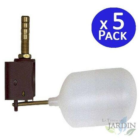 Válvula flotador de baja presión vertical. 5 unidades