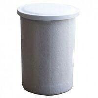 Depósito poliéster fibra 2000 litros circular + Tapadera