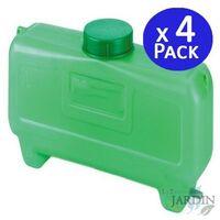 Depósito de agua 7 litros con filtro. 4 unidades