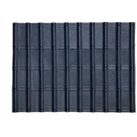 Imitation tuile onduvilla 1,07 m x 0,40 m noir