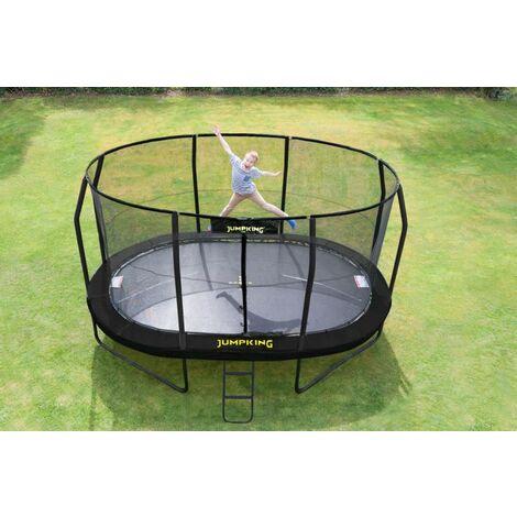 4m60x 3m JumpPOD Oval Trampoline