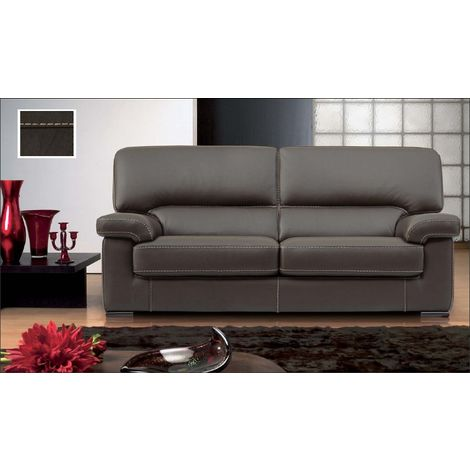 Patrick Contemporary Leather Sofa Suite