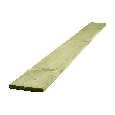 Wooden Gravel Board Fencing Board 150mm x 22mm x 0.9m Pack Of 5