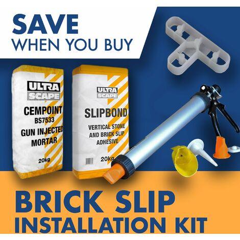 Brick Slip Tiles Installation Kit - 4m2 Kit