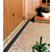 ACO Drainage HexDrain Channel with Galvanised Steel Grating 1m