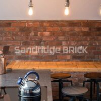Handmade Farmhouse Brick Slip Tiles - Box of 25 Brick Slips