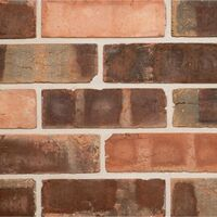 Handmade Pressed Brick Slip Tiles - Box of 10 External Corners
