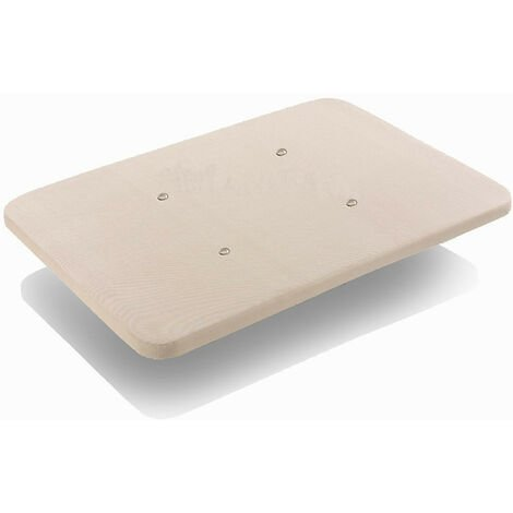 Base tapizada 3D con valvulas de transpiracion sin patas 90x190cm
