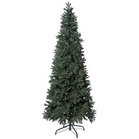 Albero Di Natale Slim 240.Albero Di Natale Slim Abete Adamello Cm 240 O 111 205424000