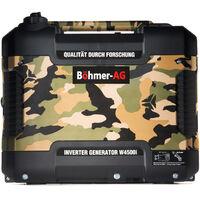 Böhmer-AG W4500i - 1.9Kw Petrol Inverter Generator - Very Quiet Camping/Backup Power