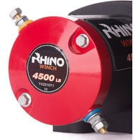 Rhino Winch - Electric Winch 12v, 4,500lb / 2040Kg - Two Wireless Remotes - Synthetic Rope