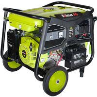Böhmer-AG 5000KE - 7500w Heavy-Duty Petrol Generator - Portable Backup/Camping Power
