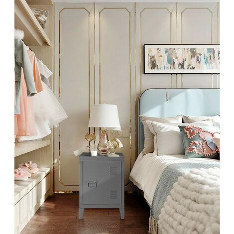 Metal steel metal file cabinet storage cabinet wardrobe wardrobe handle shelf handle powder coating gray