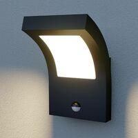 LED Lampe Exterieure Detecteur De Mouvement 'Advik' en aluminium