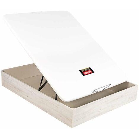 Canapé abatible pikolin naturbox transpirable altura 32 cm | 80x190cm - Glaciar