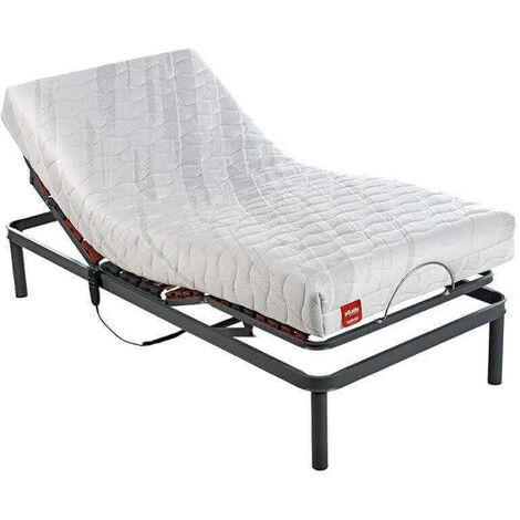 Pack colchón articulado Pikolin confortcel perfilado + Cama somier articulada 5 planos eléctrico Pikolin | 80x190cm