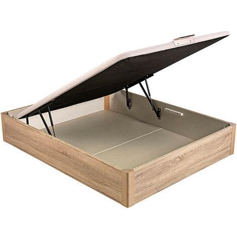 Canapé Abatible Pikolin Desing tapa embutida altura 34 cm | 90x190cm - Natural