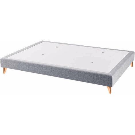 Canapé colchón fijo madera transpirable Etna altura 16 cm | 80x182cm - Gris-Etna-(90)