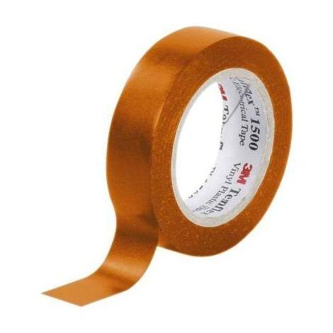 RUBAN D'ISOLATION ÉLECTRIQUE ORANGE TEMFLEX 1500 3M FE-5100-8939-7