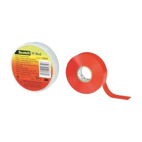 RUBAN ISOLANT SCOTCH® 35 3M 80-6112-1155-0 BLANC (L X L) 20 M X 19 MM 1 BOBINE(S)