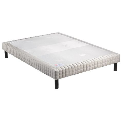 Sommier Epeda CONFORT MEDIUM King Size 180x200 - Blanc