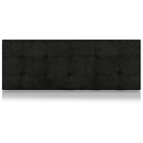 Cabecero Artemisa Tapizado Nido Antimanchas Negro de SonnoMattress 115X55x8cm