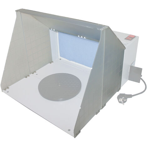 Airbrush Abluftanschluss WilTec 420 Absauganlage flexibler Schlauch Zubehör