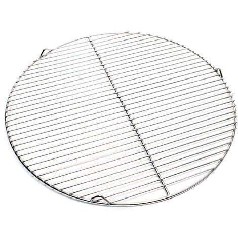 Edelstahl Grillrost rund 55 cm rostfrei für Holzkohlegrill, Gasgrill, Schwenkgrill