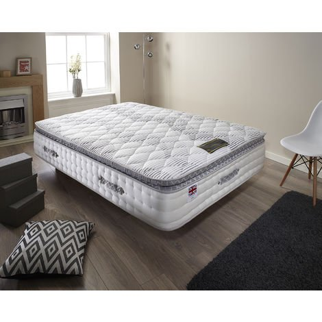 Small Double High Quality Pocket Sprung With Memory Foam Pillow Top Mattress