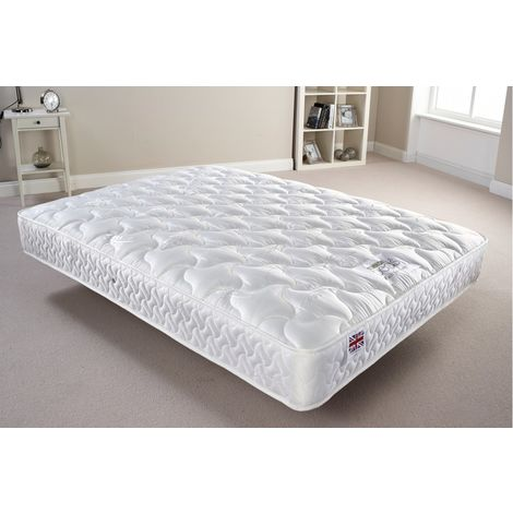 Somnior Regal Quilted Fabric Mattress Small Double (123 x 190cm)