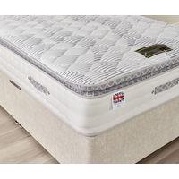 Super King High Quality Pocket Sprung With Memory Foam Pillow Top Mattress
