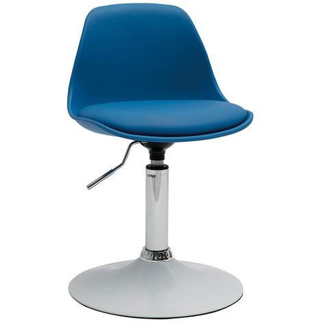 Sedia Da Ufficio Design Per Bambino Blu Steevy