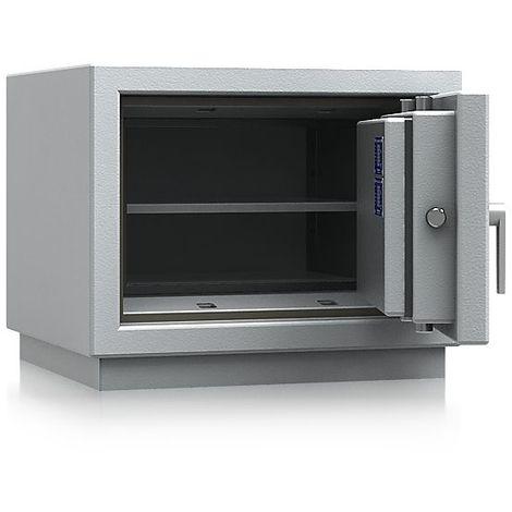 Armoire ignifuge pour documents papier à parois multiples - classe VdS I et S 120 P - h x l x p 489 x 605 x 560 mm - gris clair RAL 7035