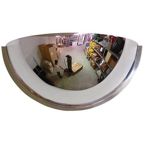Miroirs panoramiques - angle de visibilité 180° - Ø 800 mm