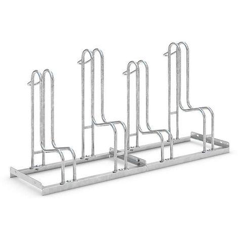 Range-vélos WSM - utilisation d'un seul côté - 4 places