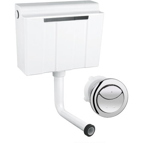 GROHE Adagio Dual Flush Side Entry Inlet In Wall Concealed Toilet Cistern WC