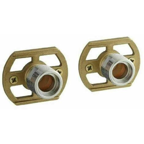 SHOWER BAR MIXER VALVE EASY WALL FIXING KIT CHROME EXP SOLID BRASS CONCEALED