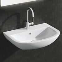 Grohe BauEdge Chrome Swivel Spout Single Lever Basin Sink Mixer Tap 23760000