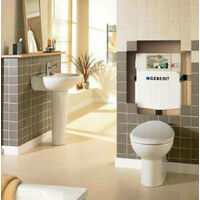 Geberit Sigma UP320 Concealed In Wall Toilet Cistern 12cm 109.309.00.5