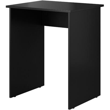 E-com - Table d'écriture Bureau Tora - 62 cm - Noir - Noir