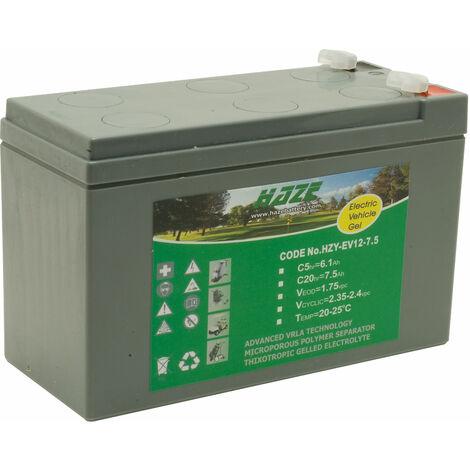 Haze HZY12-7.5EV 12V 7.5Ah Gel Battery Ev Range