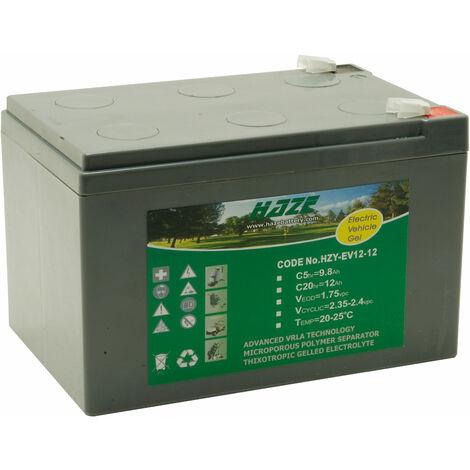 Haze HZY12-12EV 12V 12Ah Gel Battery Ev Range