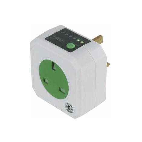Ansmann AES1 UK Energy Saving Timer Mains Socket