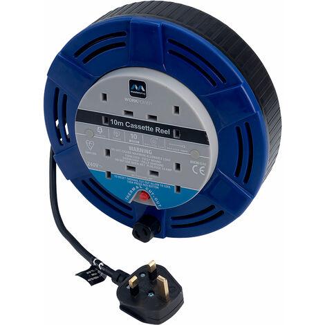 Masterplug Extension Reel 10m 10A *4 Sockets*