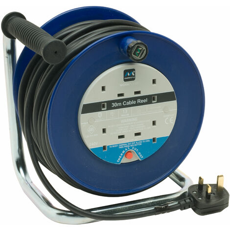 Masterplug LDCC3013/4BL/MP Extension Reel 30 Metre 13A