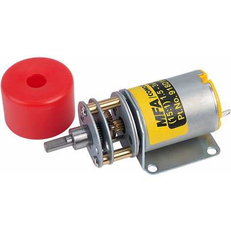 MFA 918D151/1 Gearbox and Motor 15:1 4mm Shaft 1.5-3.0V